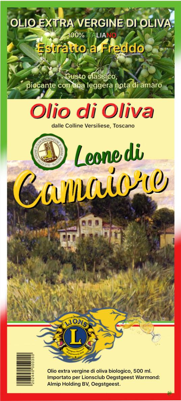 Toscaanse Olijfolie uit Camaiore